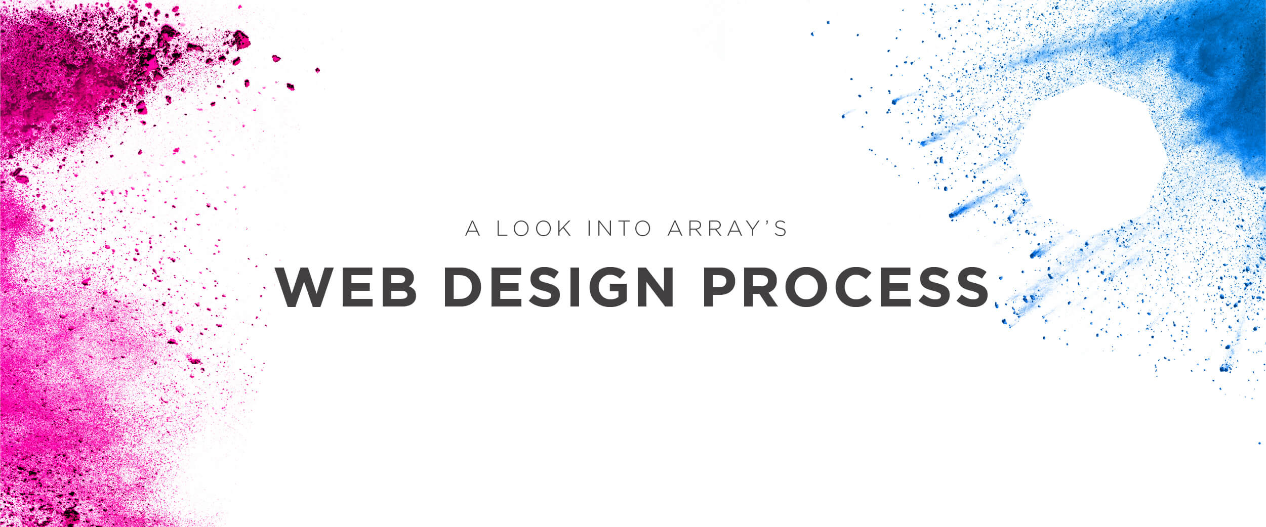 Array web design process